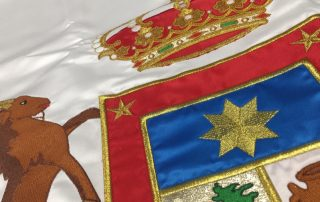 Artículos de protocolo en las Palmas- Eventtos Canarias banderas publicitarias