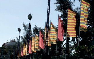 Banderas publicitarias personalizadas Eventtos canarias