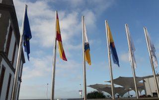 Mastiles y Banderas de gran tamaño Eventtos Canarias