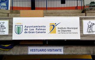 Cartel PVC señaletica Eventtos Canarias