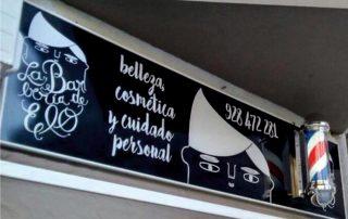 Señalética en Las Palmas Eventtos Canarias Cartel rotulado