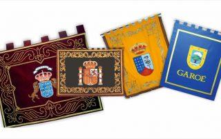 Articulos de protocolo para eventos en Las Palmas banderas - Eventtos canarias