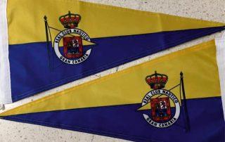 Diseño banderas publicitarias Eventtos canarias