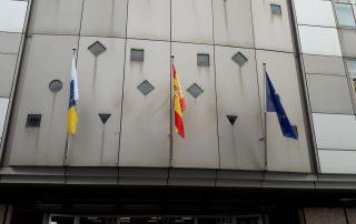 Diseño Banderas y mastiles Eventtos Canarias