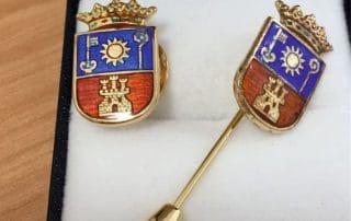 Artículos de protocolo en las palmas insignias Eventtos Canarias
