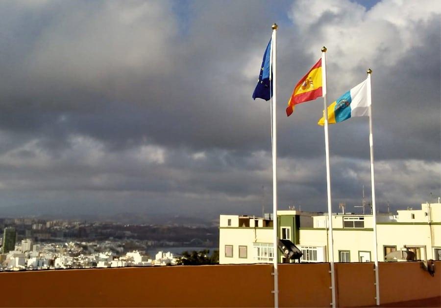 Banderas y mastiles Eventtos Canarias