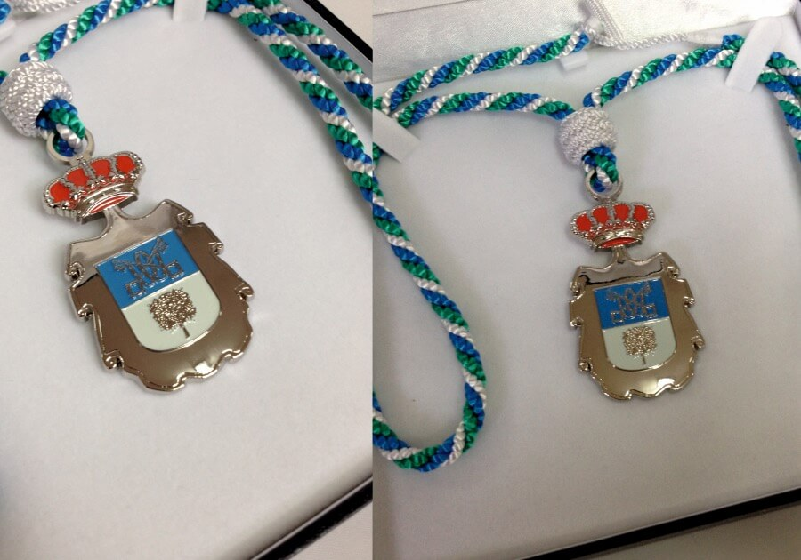 Artículos de protocolo en las palmas medallas 3D- Eventtos Canarias