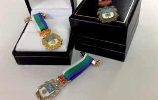 Artículos de protocolo en las palmas Medallas