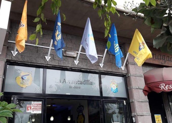 Banderas publicitarias para restaurantes Eventtos canarias