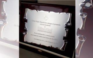 placa Grabada -Artículos de protocolo en las palmas- Eventtos Canarias