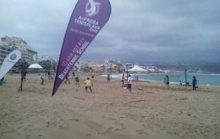 Soportes publicitarios en Las Palmas-Banderas y banderolas para eventos